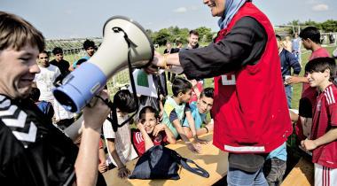 Ungdommens Røde Kors giver blandt andet mulighed for, at udsatte børn kan komme på ferielejr.