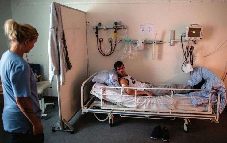 Nick Vejle blev svært hjerneskadet, da han i 2014 forsøgte at redde to fiskere i lastrummet på en fiskekutter.