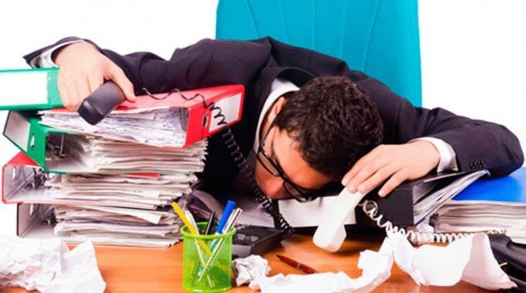 stress arbejdsskade