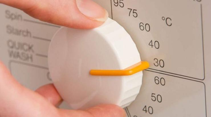 Hvilken temperatur skal tøjet vaskes ved