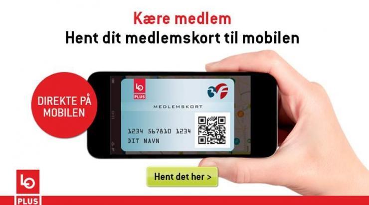 Spar Penge Download Dit Lo Plus Kort Til Mobilen Fagbladet 3f