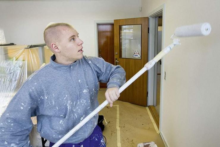 handyman timeløn