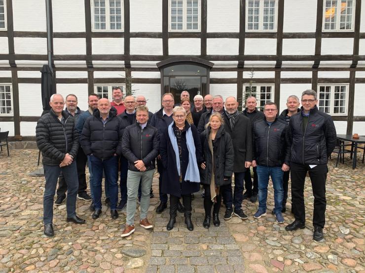 14. og 15. november var repræsentanter fra 3F og NNF samt de tre forhandlingsudvalg på mejeriområdet samlet i Vejle.