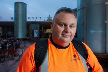Rasmus Bredde, specialarbejder og 3F-tillidsrepræsentant i Københavns Kommune.