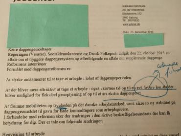 Her er brevet fra kommunen