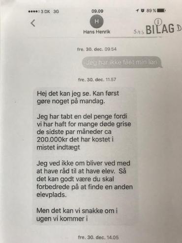 Maria sagde op, fordi hun ikke fik løn: Så krævede arbejdsgiveren erstatning   Fagbladet 3F