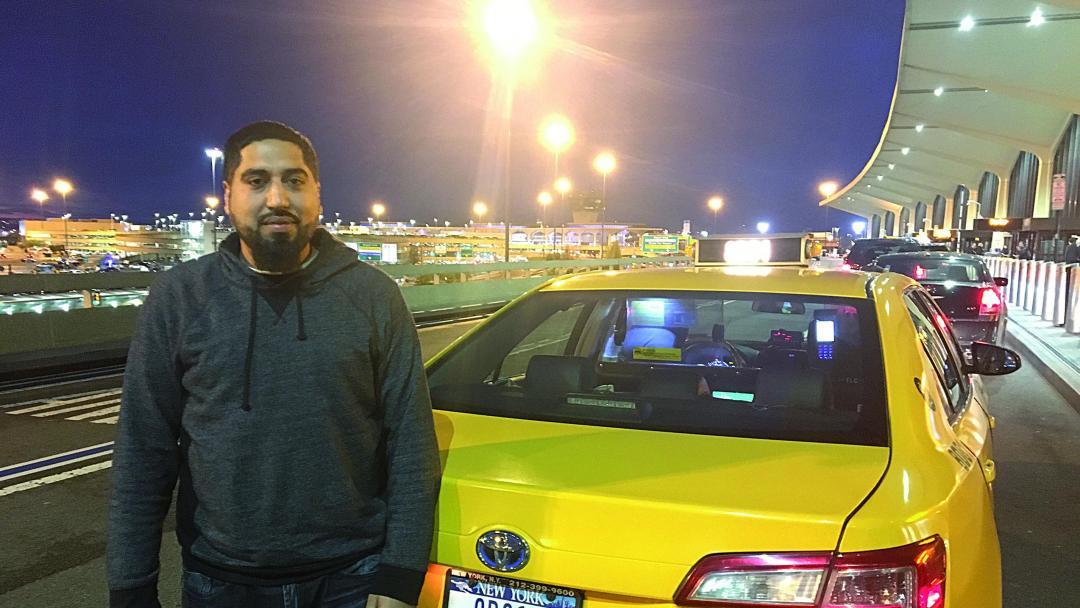 taxachauffør løn