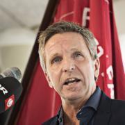 Hvis du vil høre 3F-formand Per Christensen holde tale 1. maj, skal du enten til Skanderborg eller Samsø.