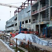 Byggearbejderne i Gødstrup kan nu frit tale med bygningskonsulenter fra fagbevægelsen uden at frygte, at deres arbejdsgiver får besked om det. (Arkivfoto)