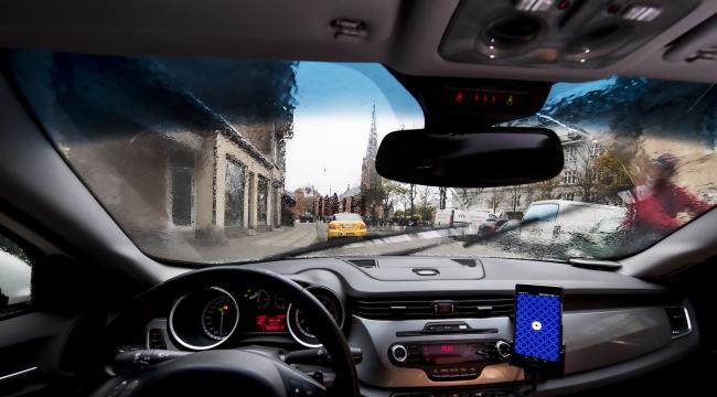Straffesagen mod Uber BV kører i Københavns Byret 24. april 2017.