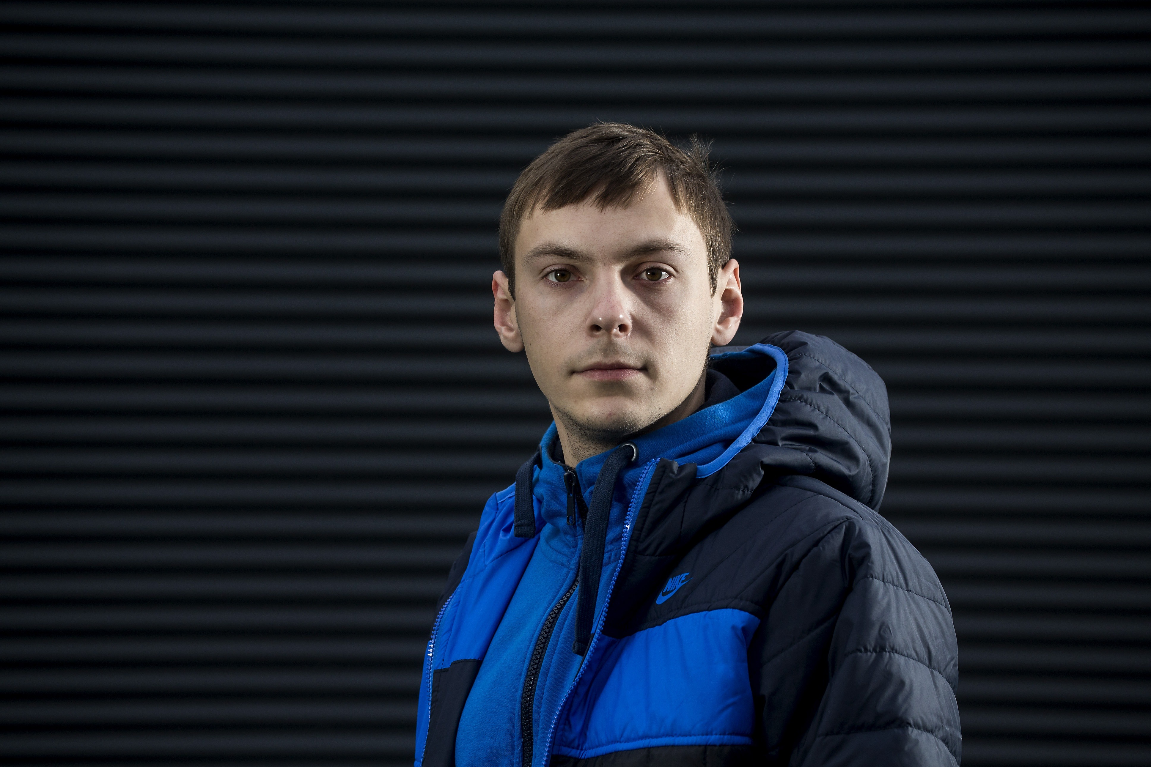 26-årige Oleksii Naboka fra Ukraine blev snydt for knap 278.000 kroner i løn og feriepenge som fodermester hos en dansk landmand.
